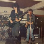 Wanda's, 1986, Marleen (gitaar) en Frank (gitaar)